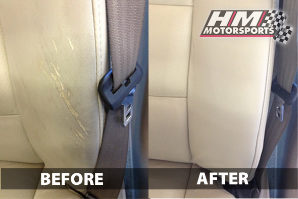 Cracked Seat Before and After